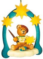 tree ornament, teddy - painter