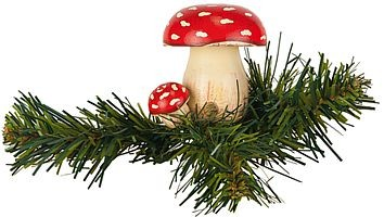 tree clip, fly agaric