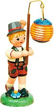 lampion children - boy with spherical lampion