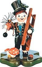 miniatures - chimney sweep lucky fellow