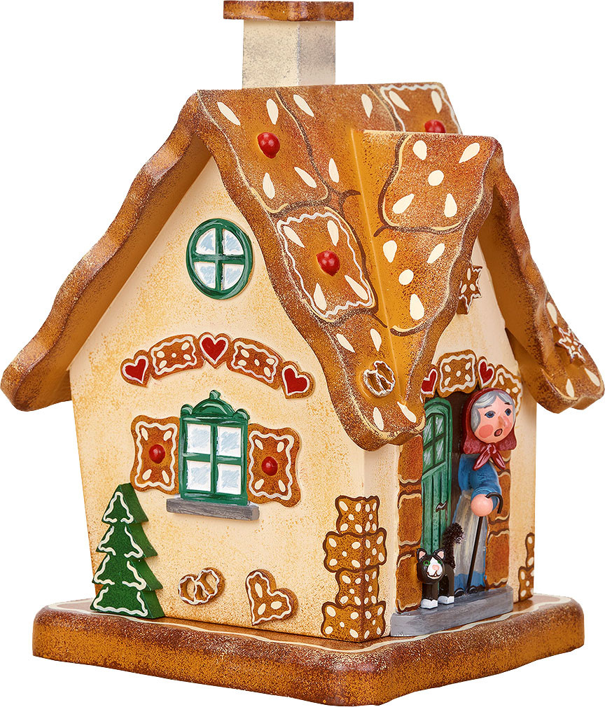 incense smoking house, gingerbread house
