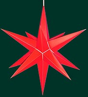 Hasslauer Advent star, red