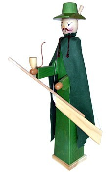 giant-sized incense smoker, forester