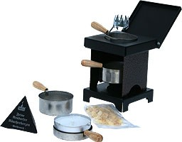stool stove - The Small All-Rounder, copper/black