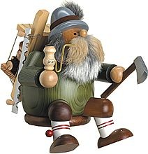 incense smoker, edge stool lumberjack, large