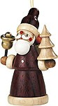 tree ornament, Santa Claus, natural coloured
