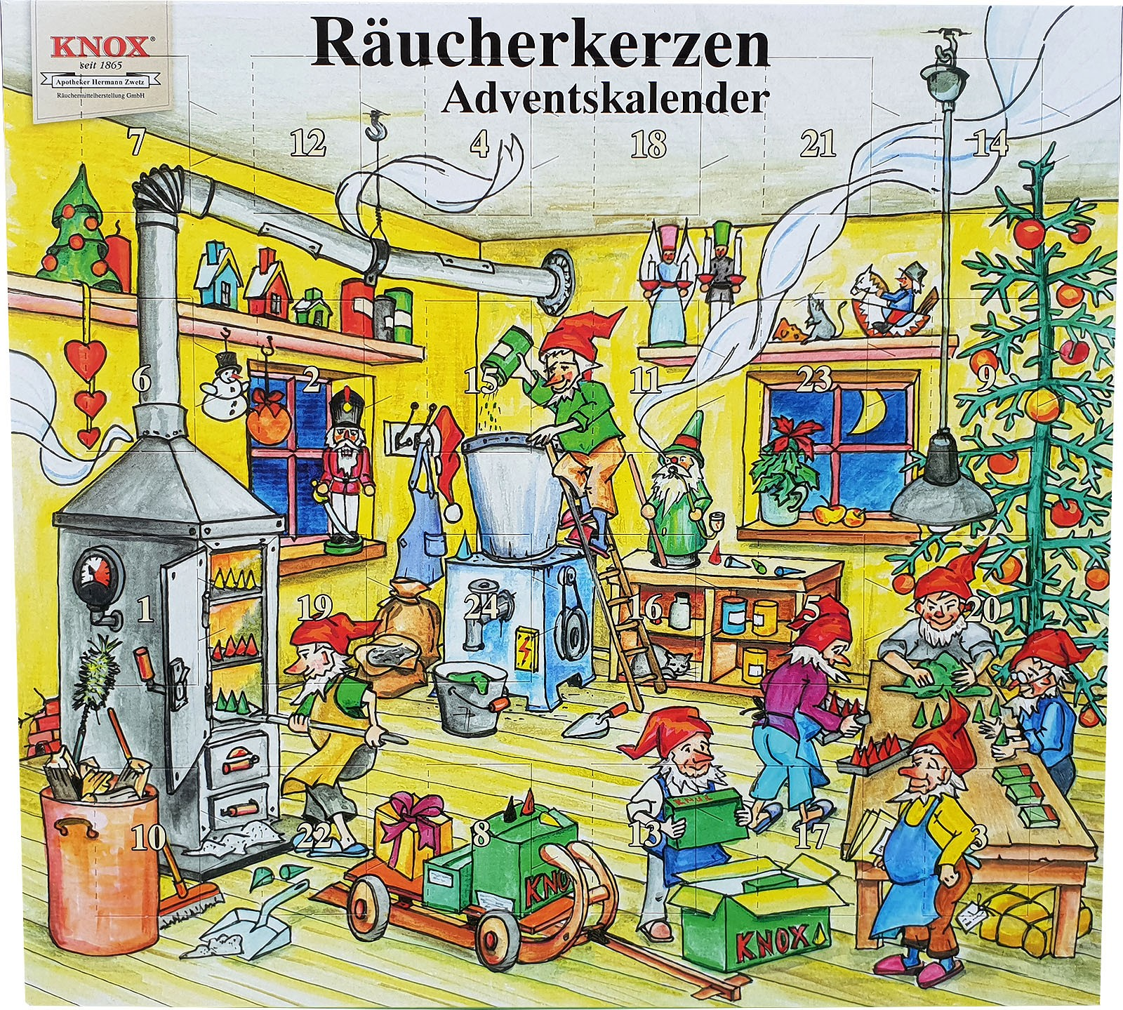 KNOX Räucherkerzen-Adventskalender 2018