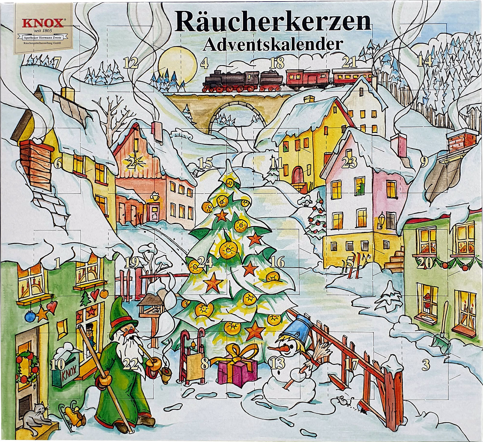 KNOX Räucherkerzen-Adventskalender 2019
