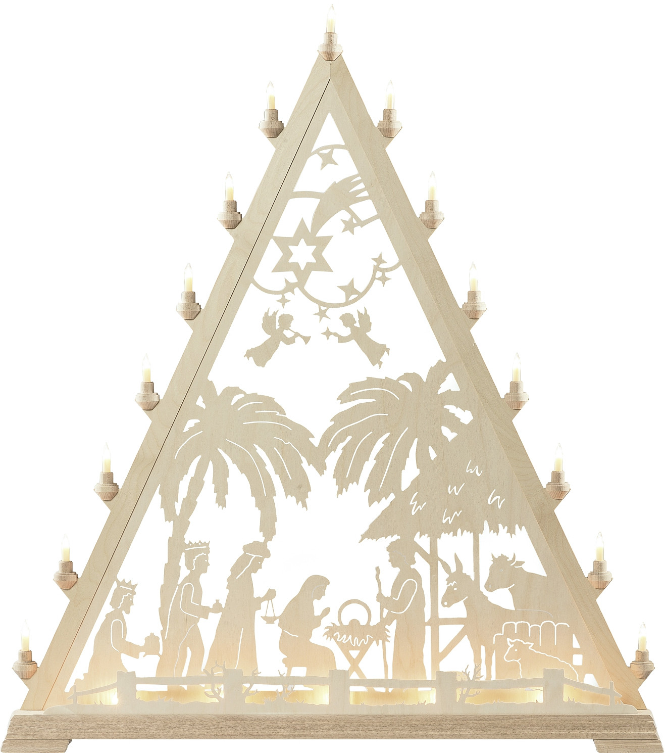 candle arch triangle - Nativity