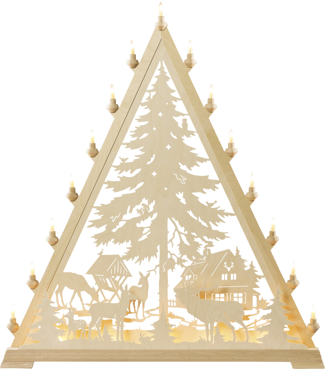 candle arch triangle Forsthaus