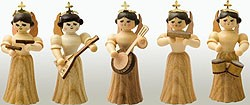 angel  assortment 7, natural, small