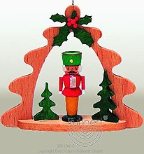 tree ornament, with nutcracker