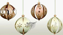 tree ornament, decoration-balls 3D