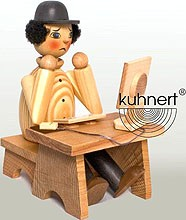 Drechslerei Kuhnert Räucherman Computerfreak, natur