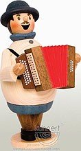 incense smoker, Max - accordion player