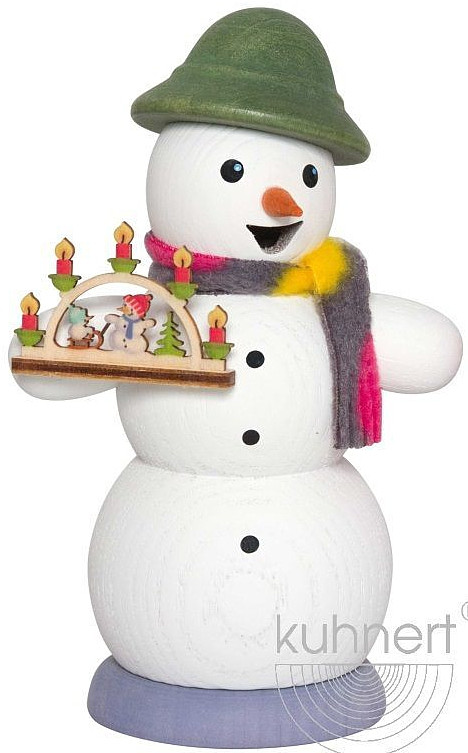 incense smoker, snowman with arches