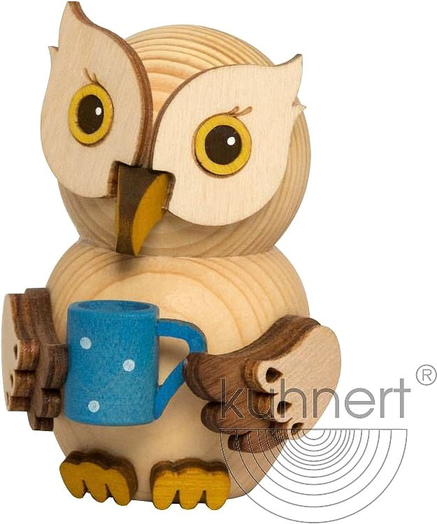 mini owl - with cup