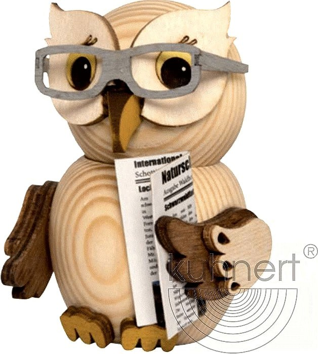 mini owl - with glasses