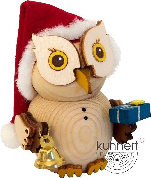 mini owl - Santa Claus