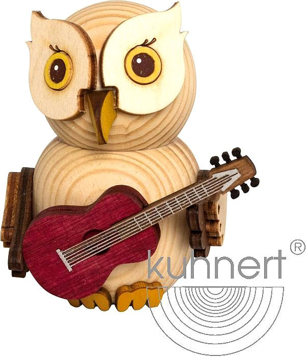 mini owl - with guitar