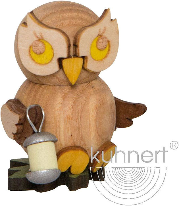 little owl with lampion
