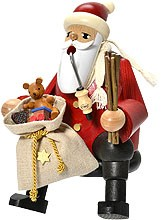 incense smoker, edge stool Santa Claus -the bearded men-