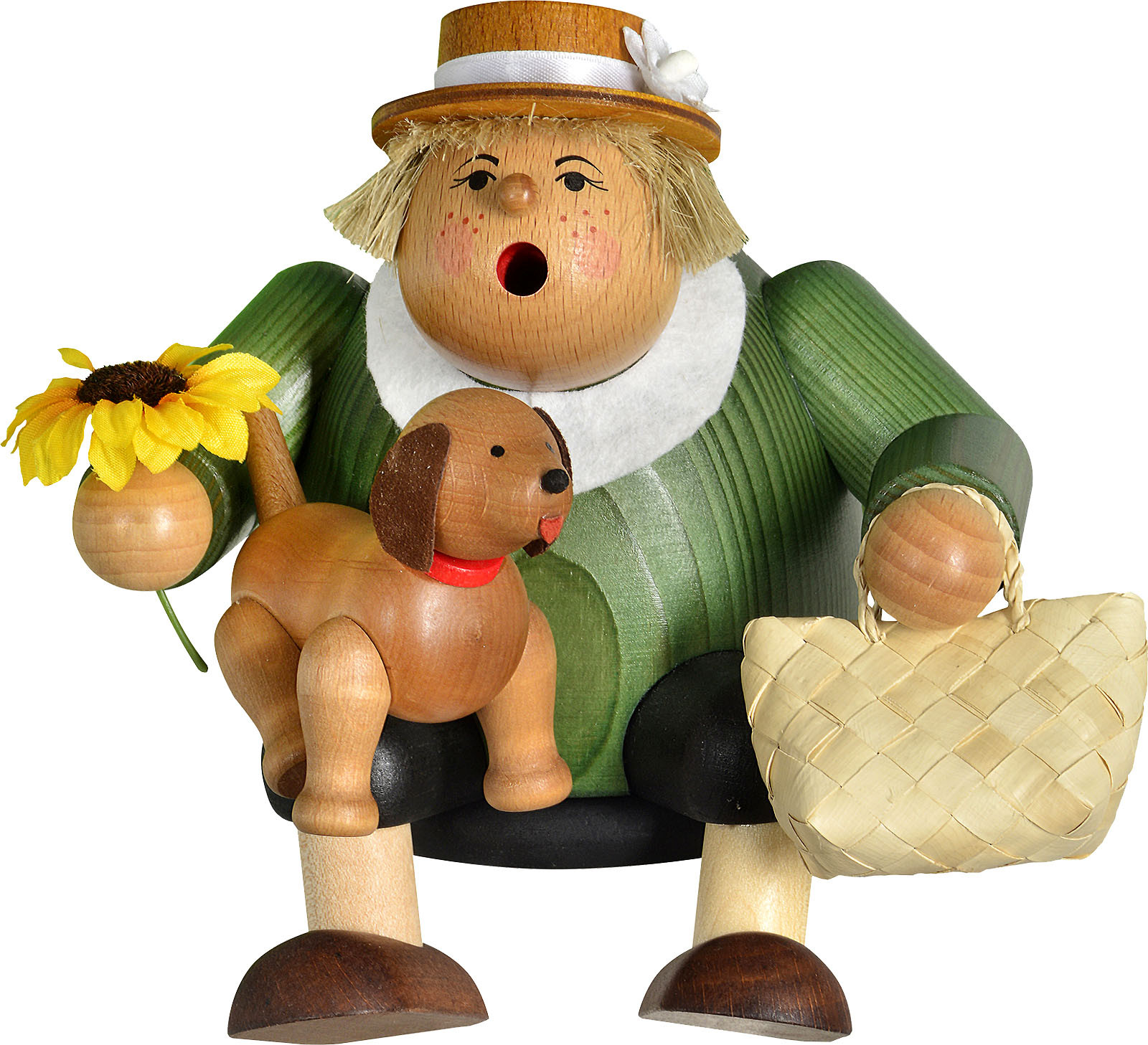 incense smoker, edge stool female dog lover - the thicknesses men