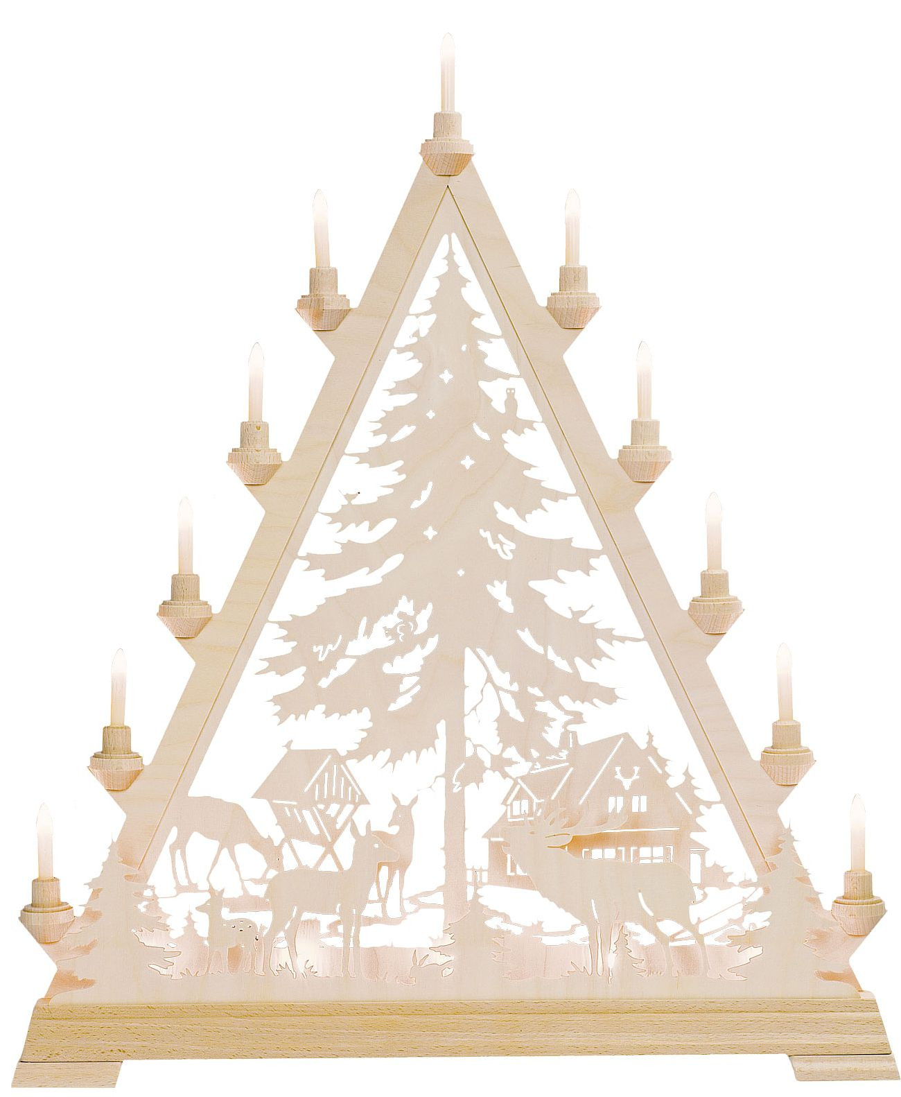 candle arch triangle Forest House