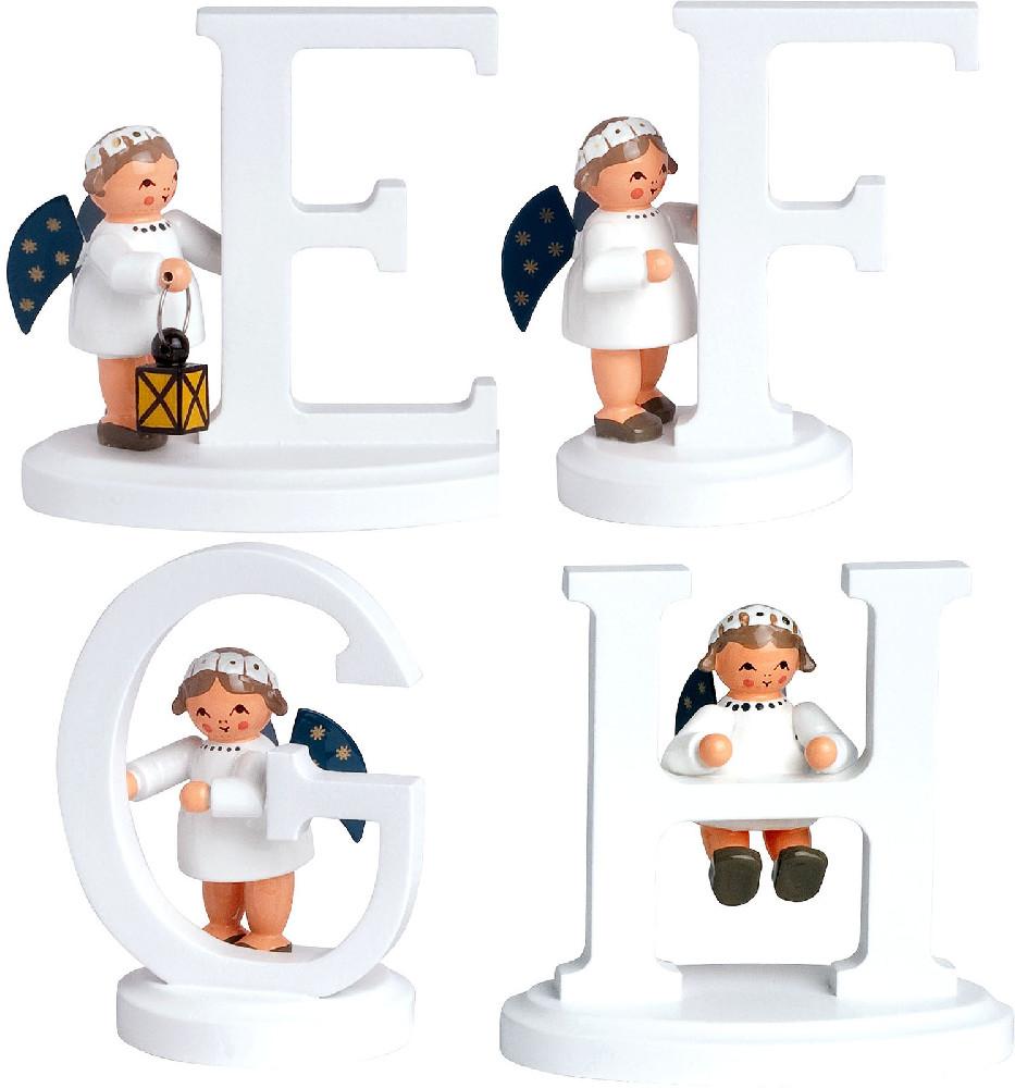 KWO Engel mit Buchstabe E bis H