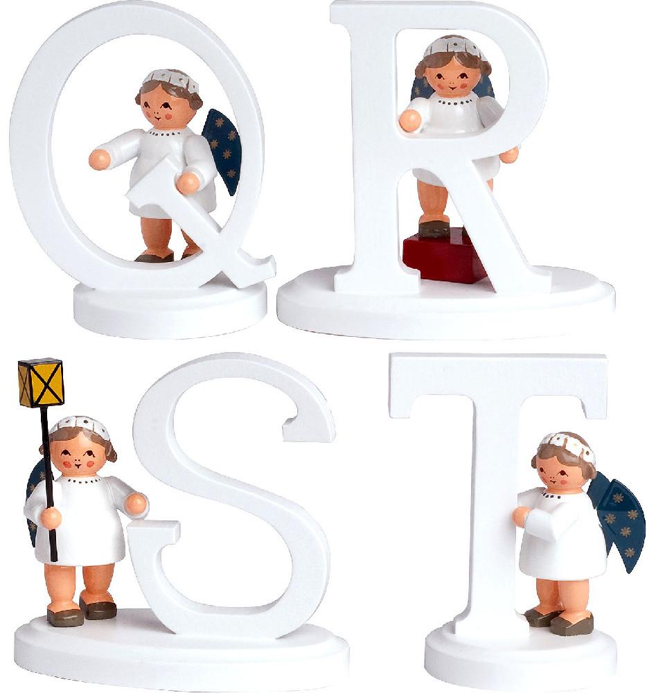 KWO Engel mit Buchstabe Q bis T