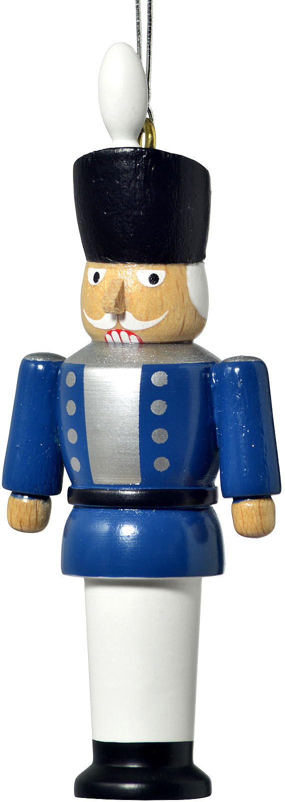 tree ornament, nutcracker, blue