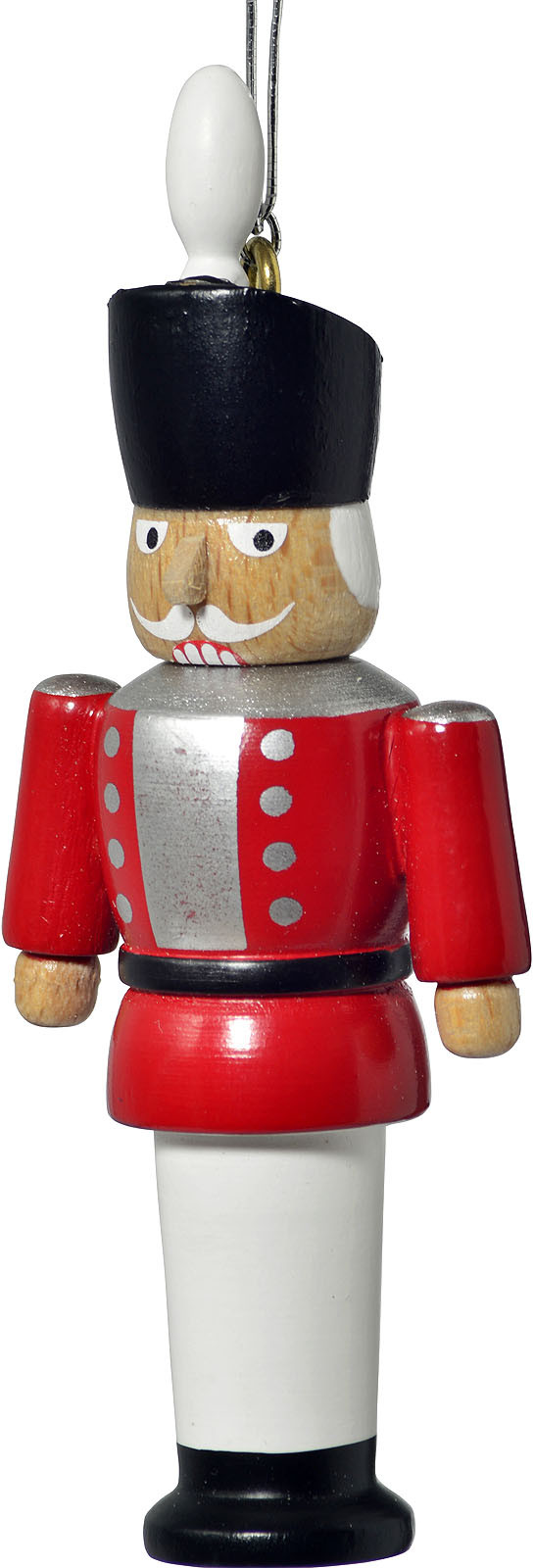tree ornament, nutcracker, red
