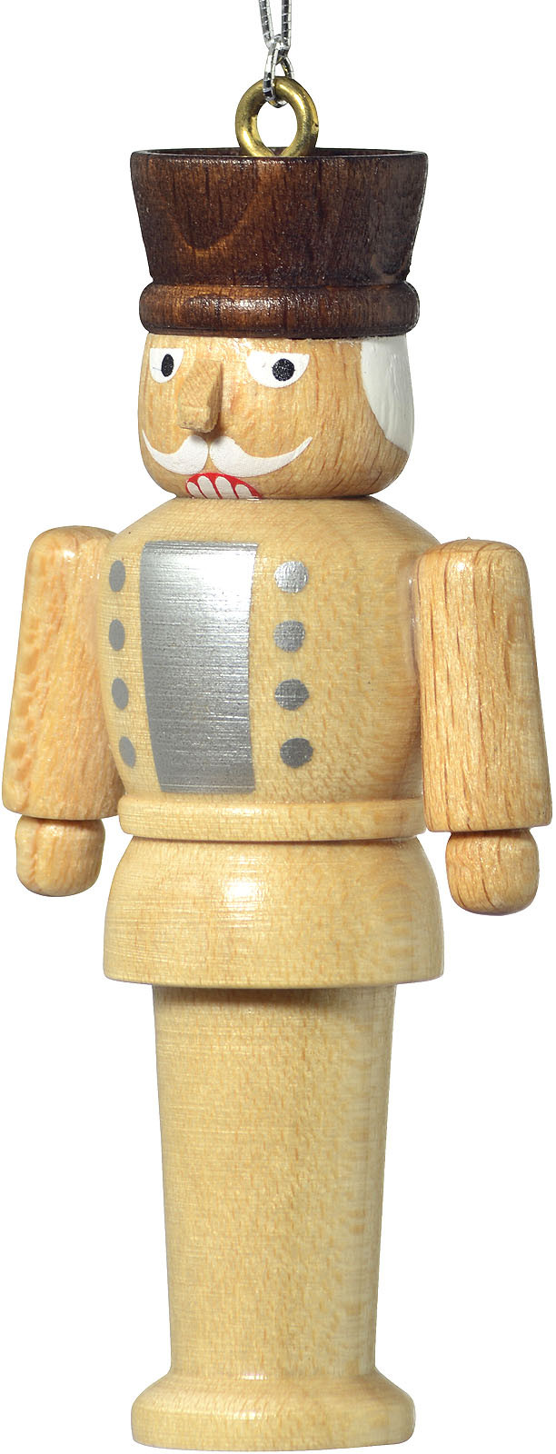 tree ornament, nutcracker, natural