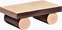 bench for edge stool figures, large