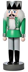 nutcracker king, green