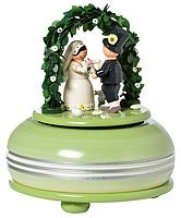 music box wedding, small