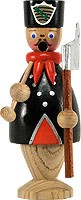 mini incense smoker, miner with black hat
