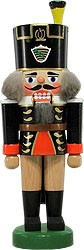 nutcracker miner, Saxony coat of arms
