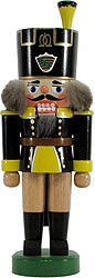 nutcracker miner Saxony coat of arms yellow/black