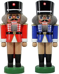 nutcracker hussar red or blue