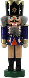 nutcracker king, darkblue