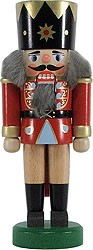 nutcracker king, darkred