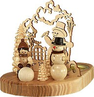 tealight holder snowman