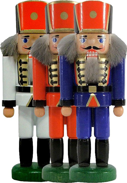 minitature nutcracker soldier