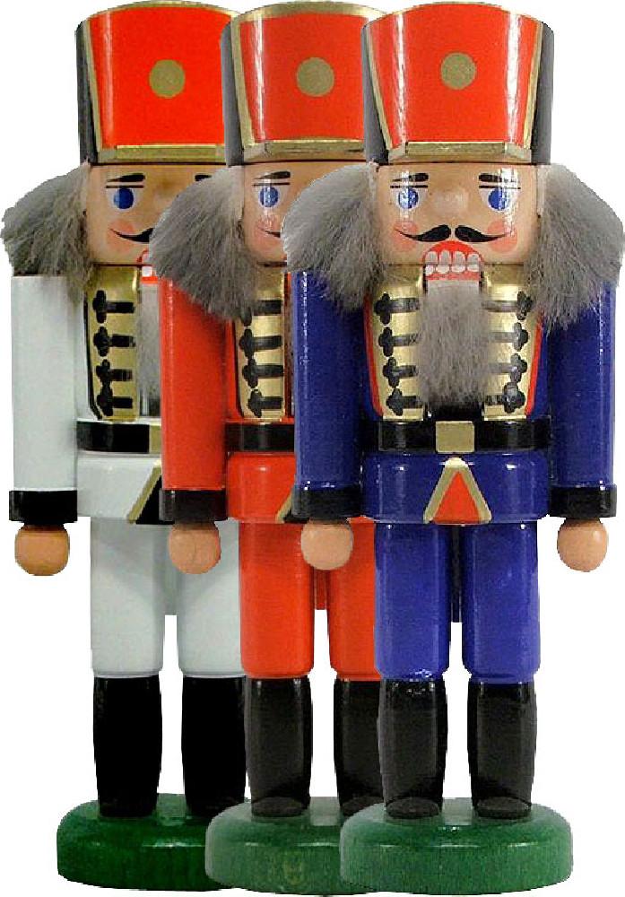 HoDreWa Legler Miniatur-Nußknacker Soldat