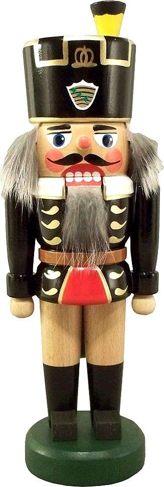 nutcracker miner, Saxony coat of arms, 8.66 inches