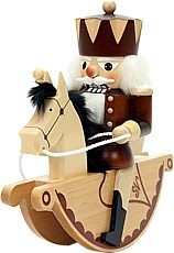 nutcracker little rider king natural
