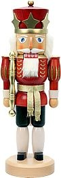 nutcracker king varnished