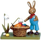KWO Hase mit Osternest
