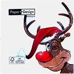 table napkins, Rudolph